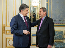 European Commissioner Johannes Hahn Royalty Free Stock Images