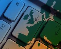 European communications Stock Image