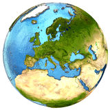 European continent on Earth Royalty Free Stock Image
