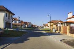 European convenient street Stock Images
