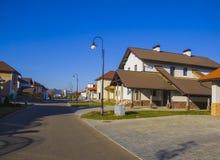 European convenient street Stock Photos