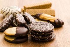 European cookies Royalty Free Stock Images