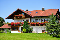 The European cottage Stock Photography
