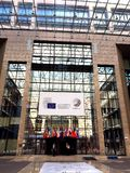 European Council building in Brussels Stock Photo
