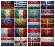 European countries from G to P Stock Photography