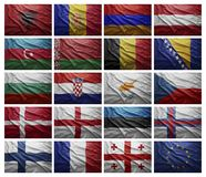 European countries from A to G Royalty Free Stock Photos