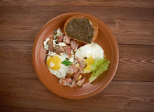 European country breakfast Royalty Free Stock Image