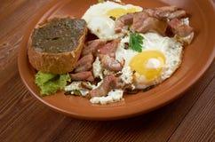 European country breakfast Stock Photos