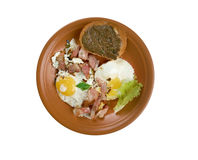 European country breakfast Royalty Free Stock Photo