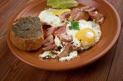 European country breakfast Stock Image