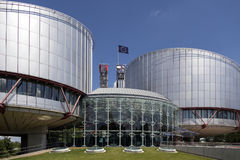 European Court of Human Rights - Strasbourg - France royalty free stock images