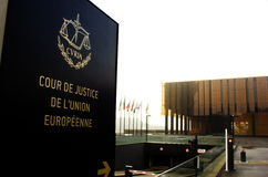 Free European Court Of Justice In Luxembourg Royalty Free Stock Photography - 47968067