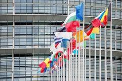 The European court in Strasbourg Stock Photos