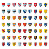 European crests Royalty Free Stock Images