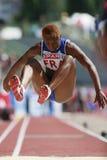 European Cup. Nzola Teresa (FRA). Triple Jump Stock Photos