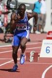 European Cup. Djone Leslie (FRA). 400m Stock Photo