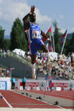 European Cup. Gomis Kafetien (FRA) Long Jump Royalty Free Stock Photography