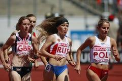 European Cup. 3000 m Stock Photos