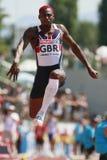 European Cup. Idowu Phillips (GBR).Triple Jump Stock Photo