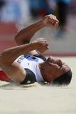 European Cup. Friedek Charles Michael (GER).triple jump Royalty Free Stock Images