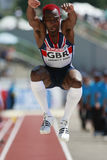 European Cup. Idowu Phillips (GBR).Triple Jump Stock Photography