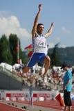 European Cup. Tsatoumas Louis (GRE).Long Jump Royalty Free Stock Photos