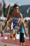 European Cup. Tsatoumas Louis (GRE).Long Jump Stock Photo