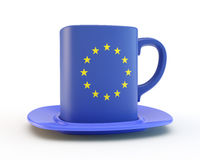 European cup Royalty Free Stock Photo