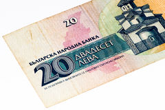 European currancy banknote Stock Images