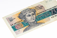 European currancy banknote Royalty Free Stock Photography