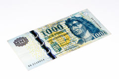 European currancy banknote Stock Image