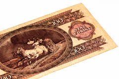 European currancy banknote Stock Photography