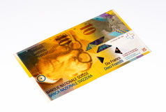 European currancy banknote Royalty Free Stock Image