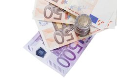 European currencies Stock Photo