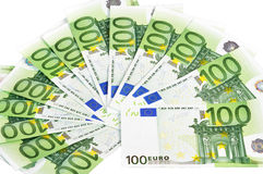 European currency. #034 Royalty Free Stock Photography
