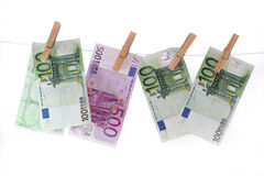 European currency Stock Image