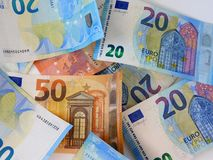 The european currency royalty free stock image