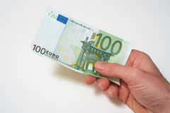 European Currency. European Bank notes, Euro  currency from Europe, Euros Royalty Free Stock Photo