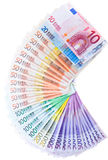 European currency banknotes Stock Photography