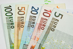 European currency Euro - banknote Royalty Free Stock Image