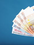 European currency euro banknotes Royalty Free Stock Photo