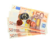 European currency euro banknotes Stock Image