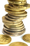 European Currency. Euro Coins Stock Image