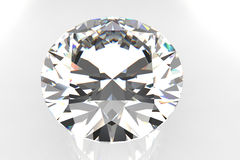 European Cut Diamond Gemstone Royalty Free Stock Image