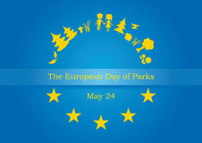 The European Day of Parks vector Royalty Free Stock Photos