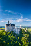 European Destination - Neuschwanstein Castle Stock Photography