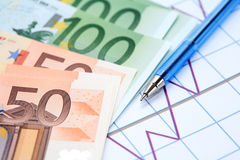 European Economic Growth Royalty Free Stock Photography