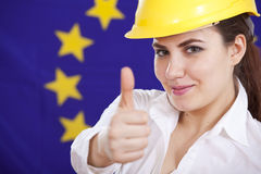 European economic wonder Royalty Free Stock Photo