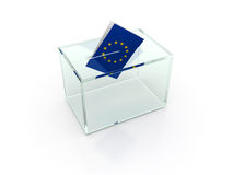 European election Royalty Free Stock Image