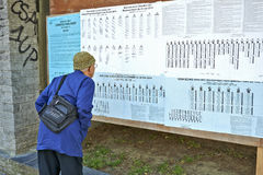 European election on May 25, 2014 Stock Photo